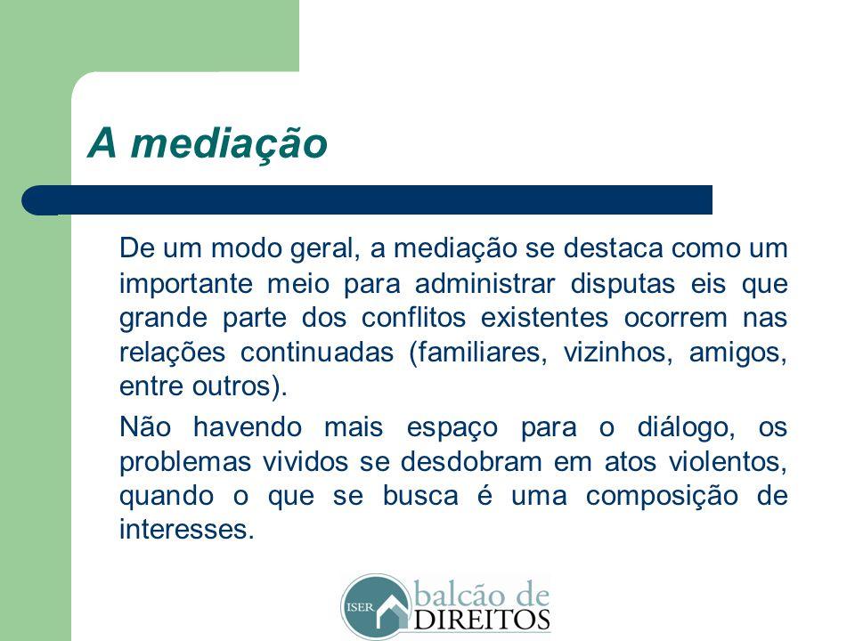 A mediação