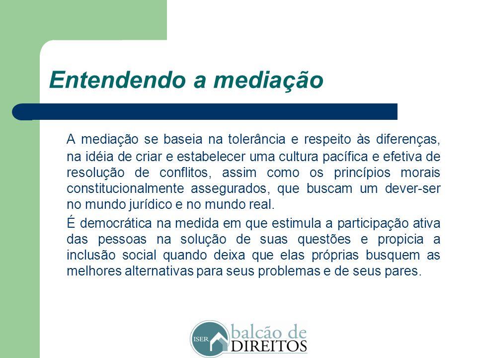 Entendendo a mediação