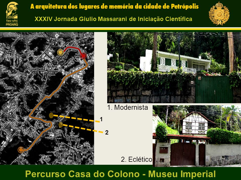 Percurso Casa do Colono - Museu Imperial