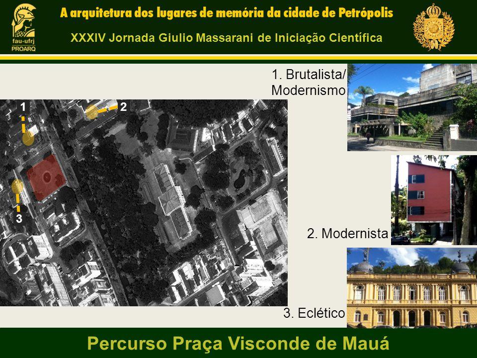 Percurso Praça Visconde de Mauá