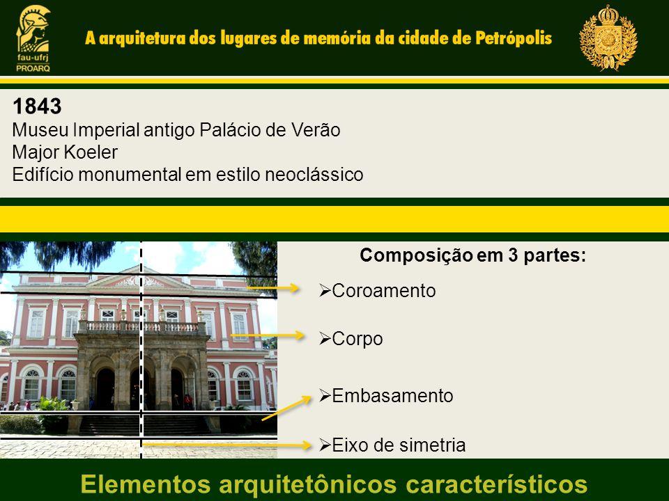 Elementos arquitetônicos característicos