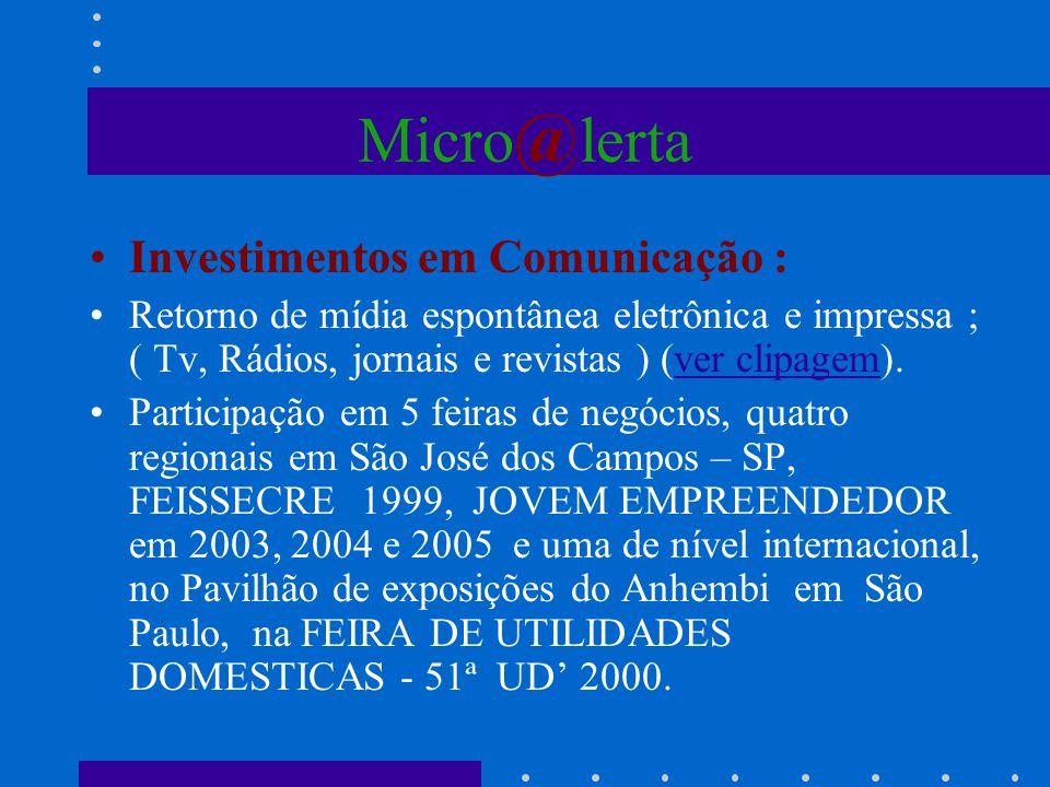 Micro@lerta Investimentos em Comunicação :