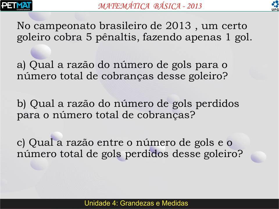 No campeonato brasileiro de 2013 , um certo goleiro cobra 5 pênaltis, fazendo apenas 1 gol.