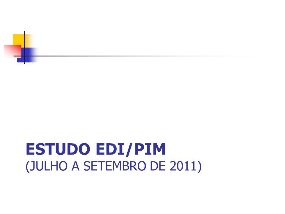eStudo edi/pim (Julho a setembro de 2011)