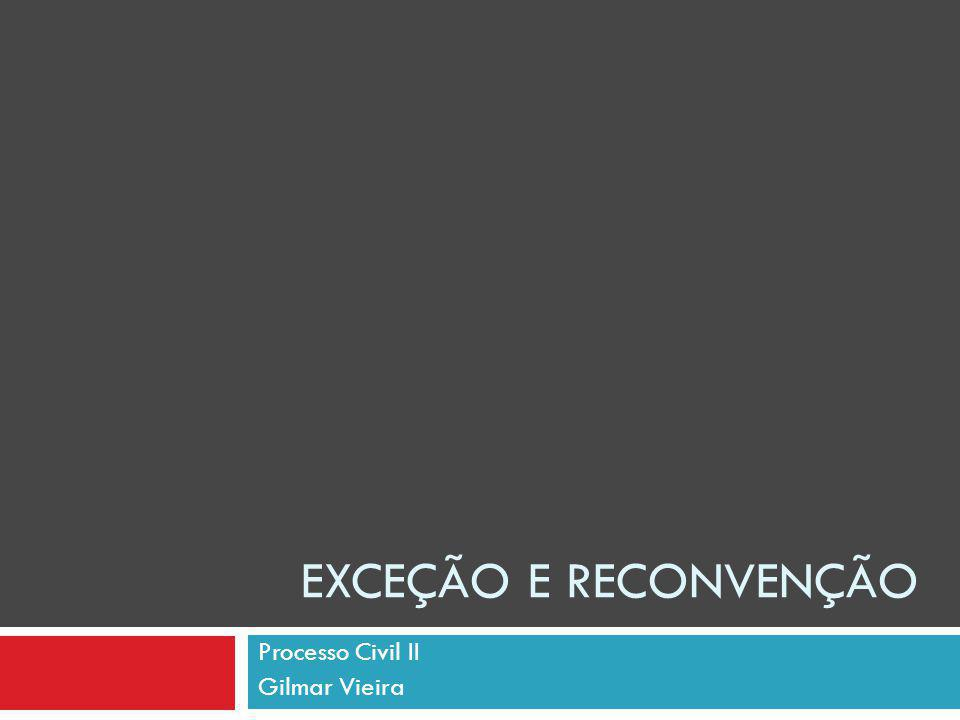 Processo Civil II Gilmar Vieira