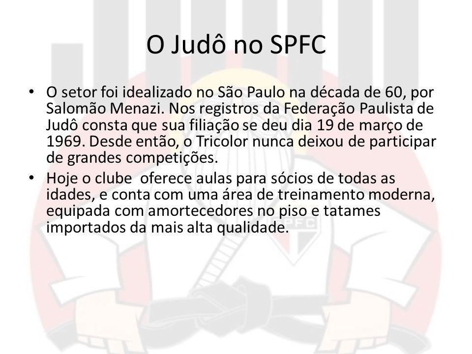 O Judô no SPFC