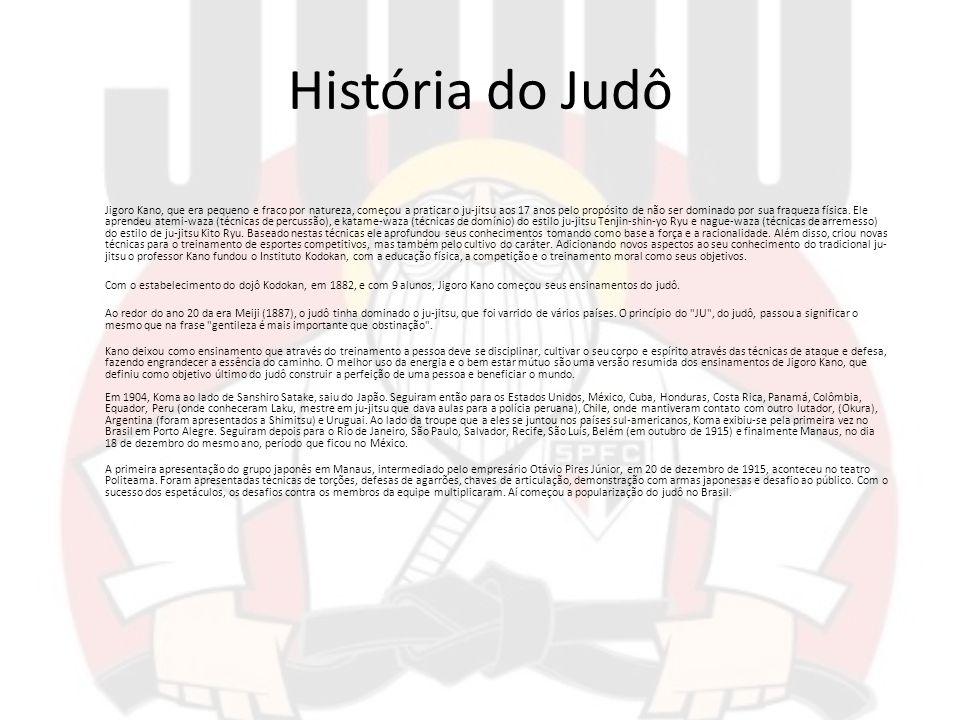 História do Judô