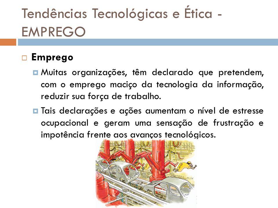 Tendências Tecnológicas e Ética - EMPREGO