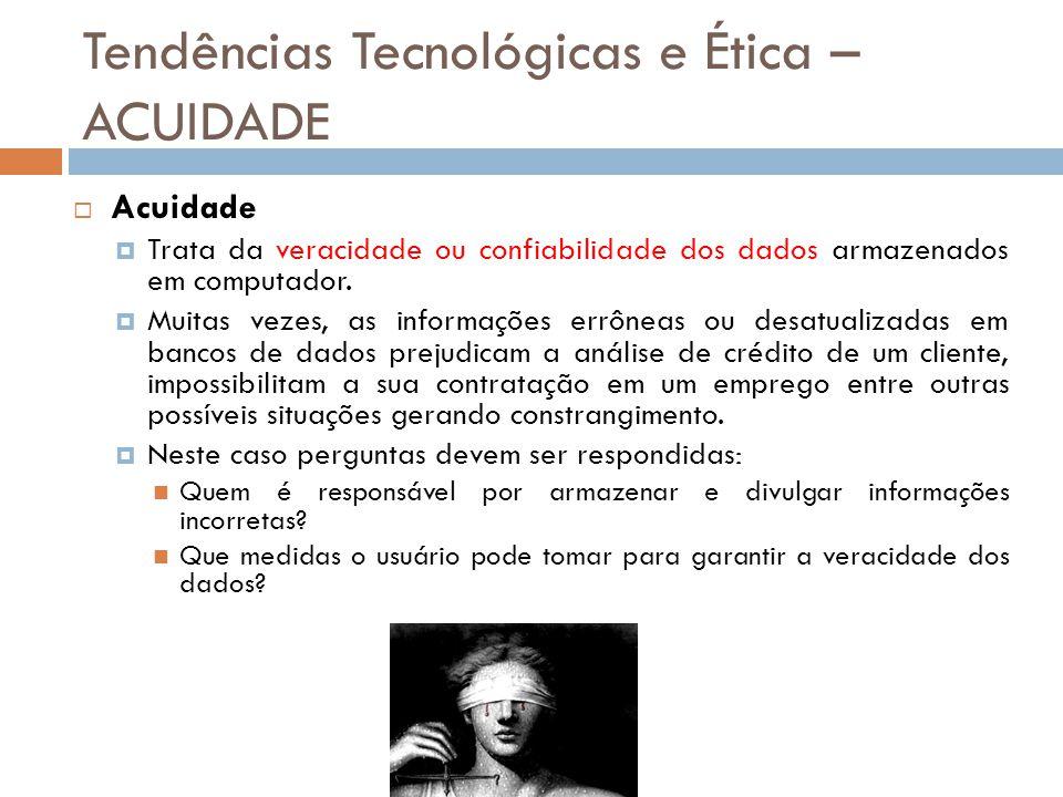 Tendências Tecnológicas e Ética – ACUIDADE