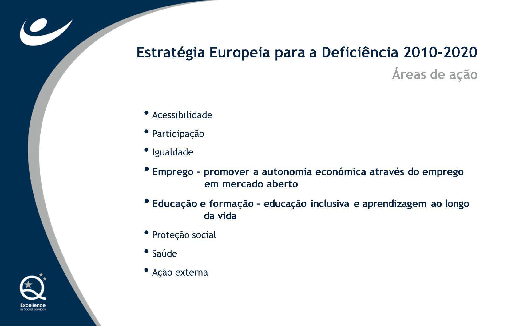 Estratégia Europeia para a Deficiência 2010-2020