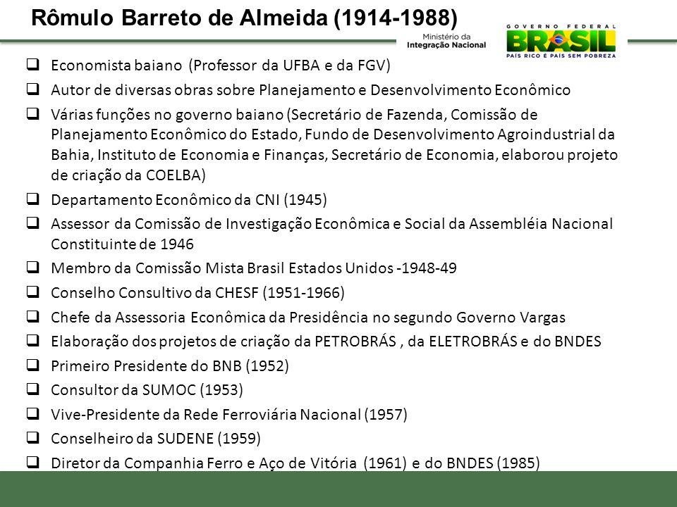 Rômulo Barreto de Almeida (1914-1988)