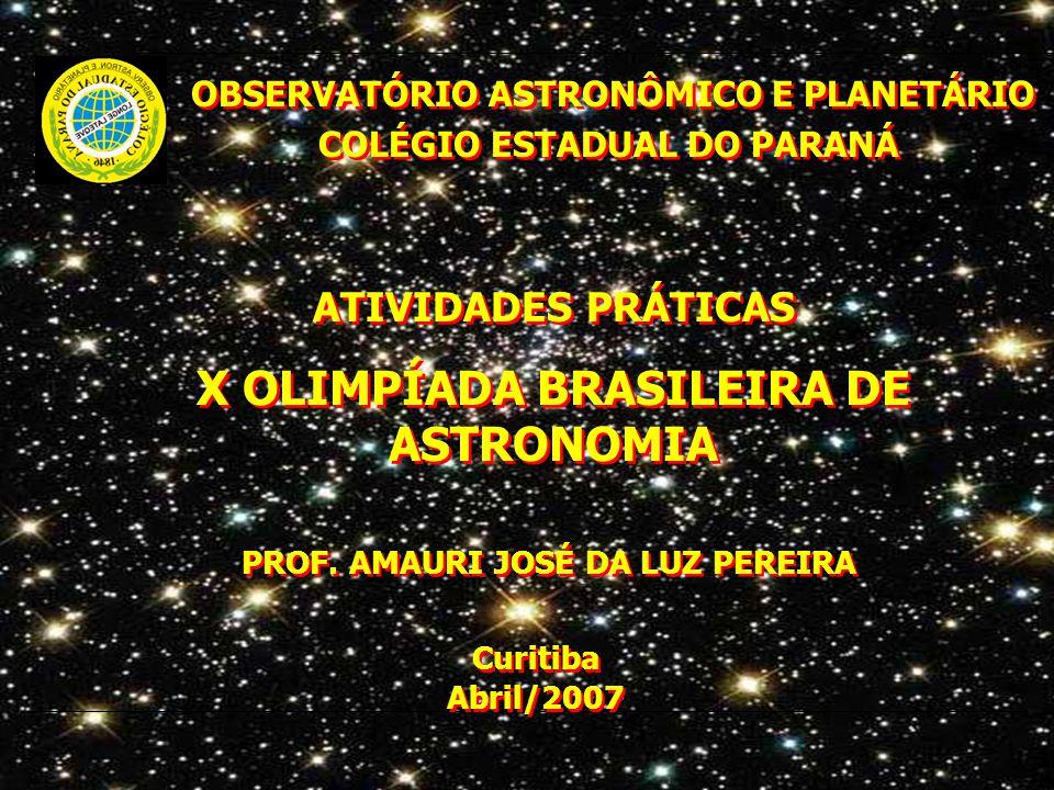 X OLIMPÍADA BRASILEIRA DE ASTRONOMIA