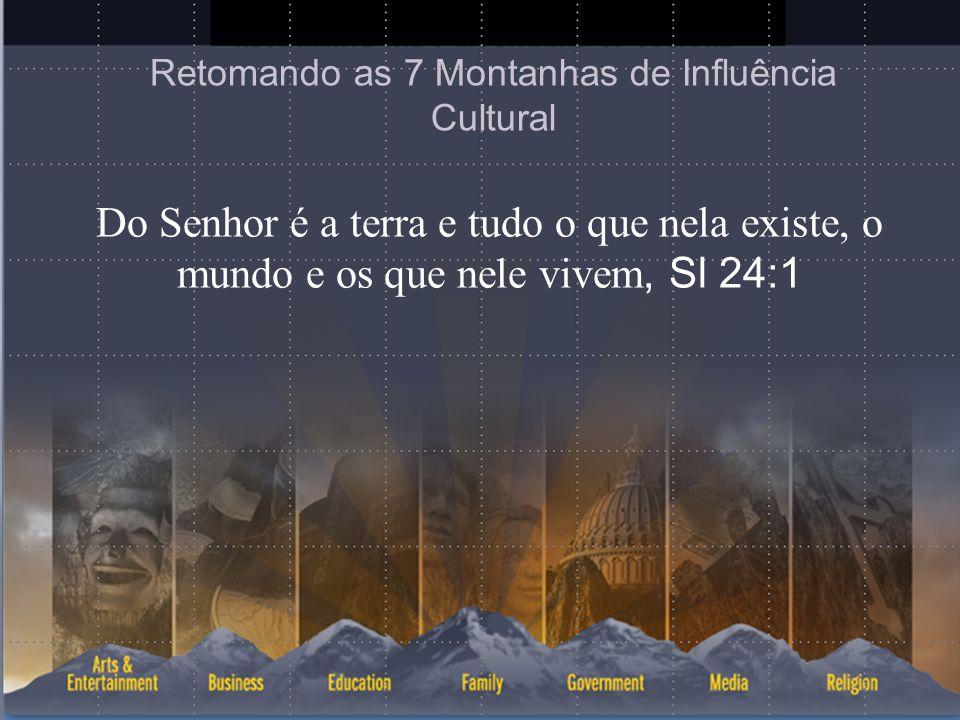 Retomando as 7 Montanhas de Influência Cultural