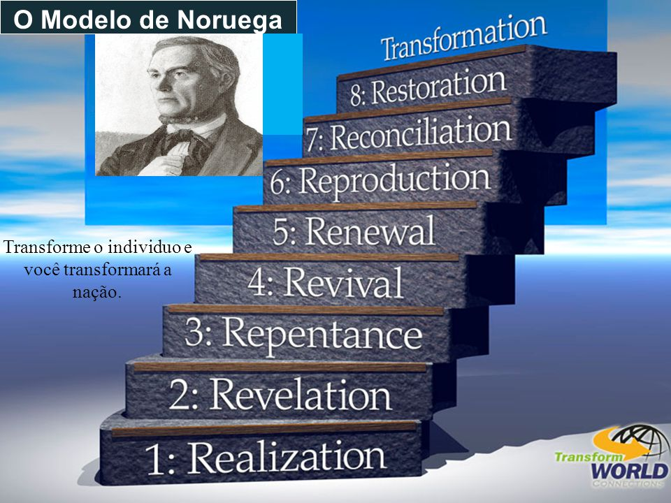 Transforme o individuo e você transformará a nação.