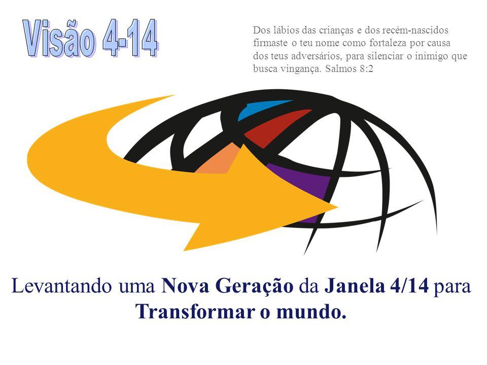 Levantando uma Nova Geração da Janela 4/14 para Transformar o mundo.