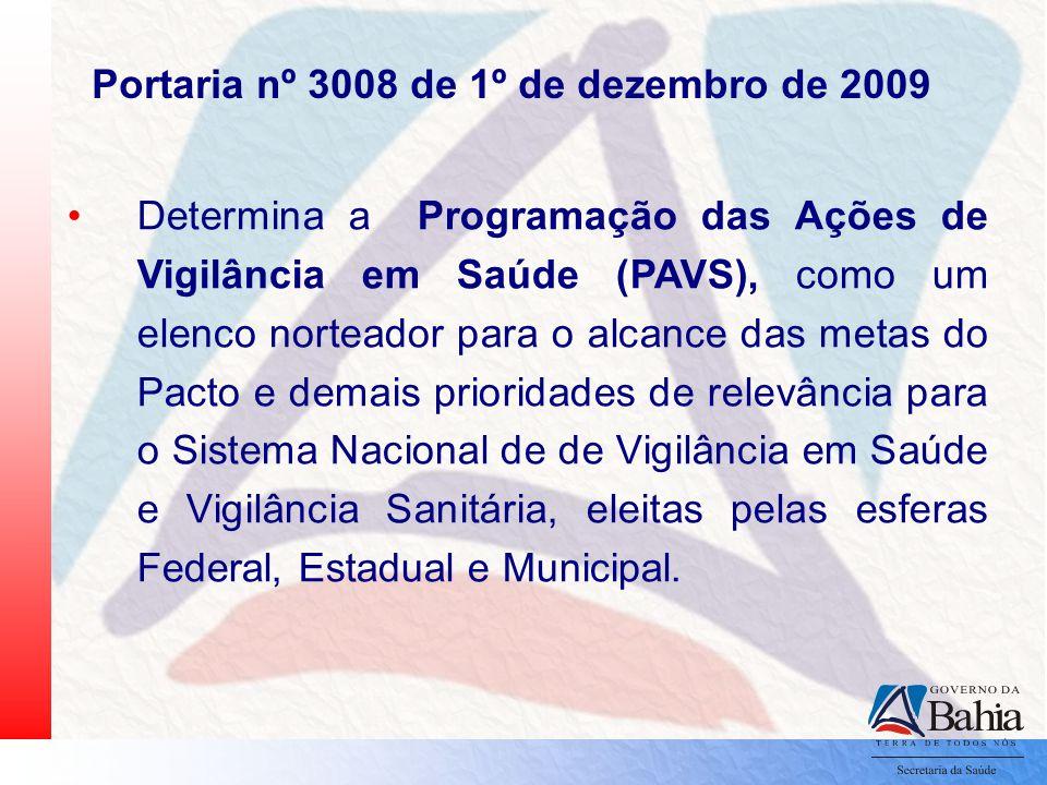 Portaria nº 3008 de 1º de dezembro de 2009