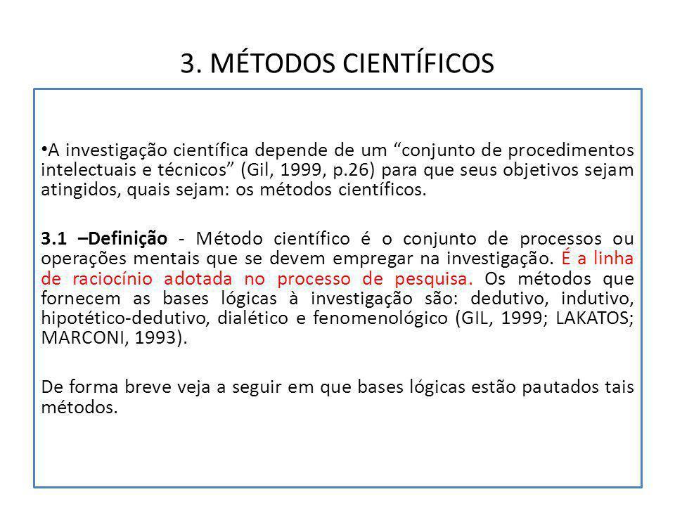 3. MÉTODOS CIENTÍFICOS