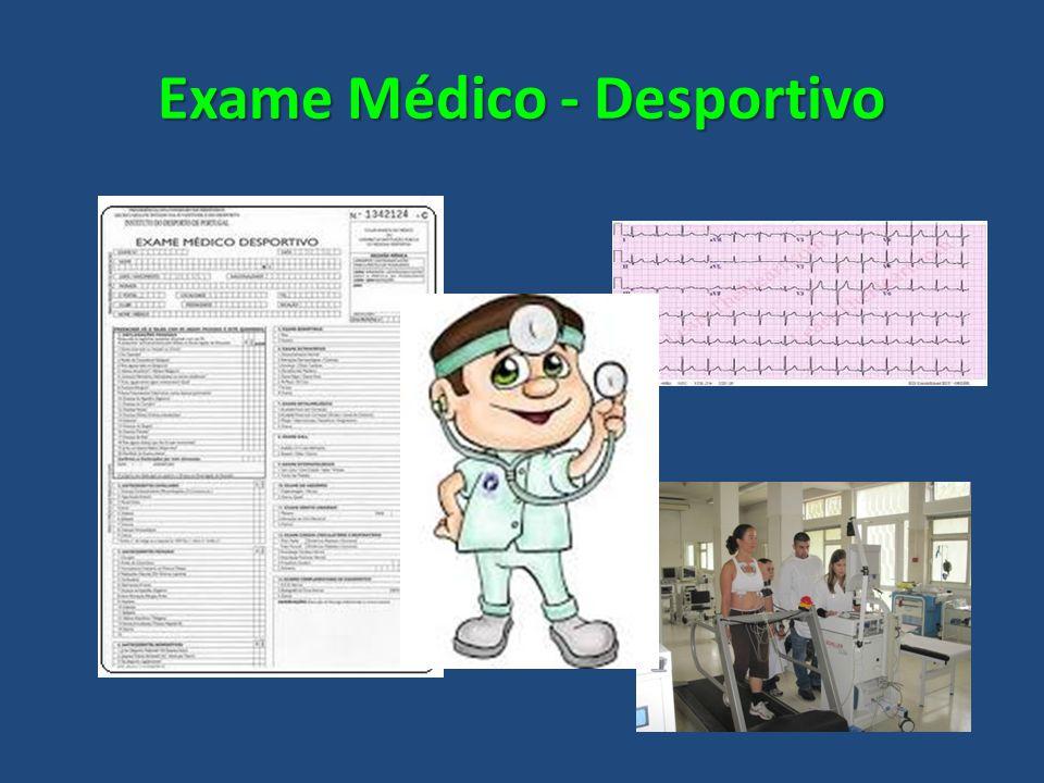 Exame Médico - Desportivo