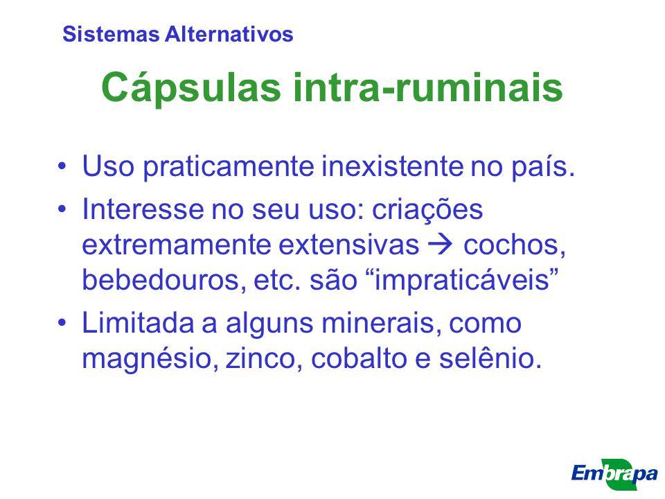 Cápsulas intra-ruminais