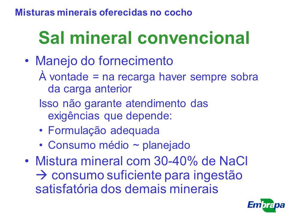 Sal mineral convencional