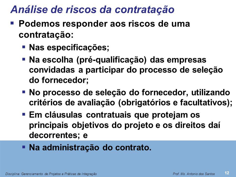 Tipos de Contrato