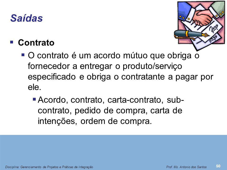 Administração de Contrato