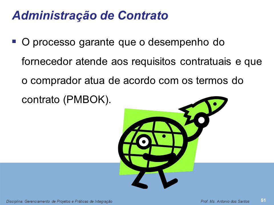 Processo de Administração de Contrato