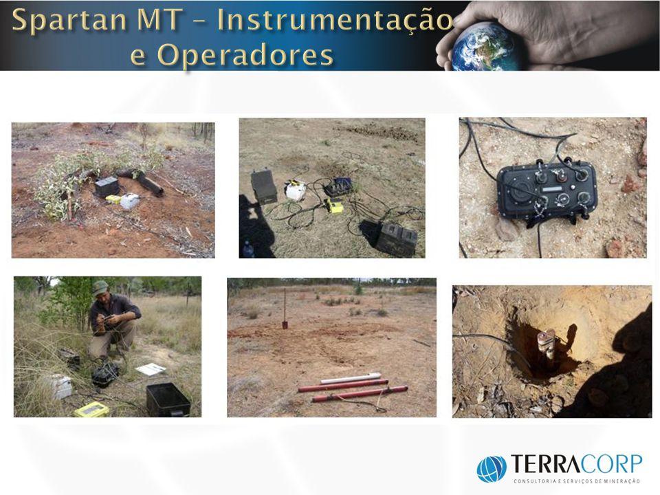 Spartan MT – Instrumentação e Operadores
