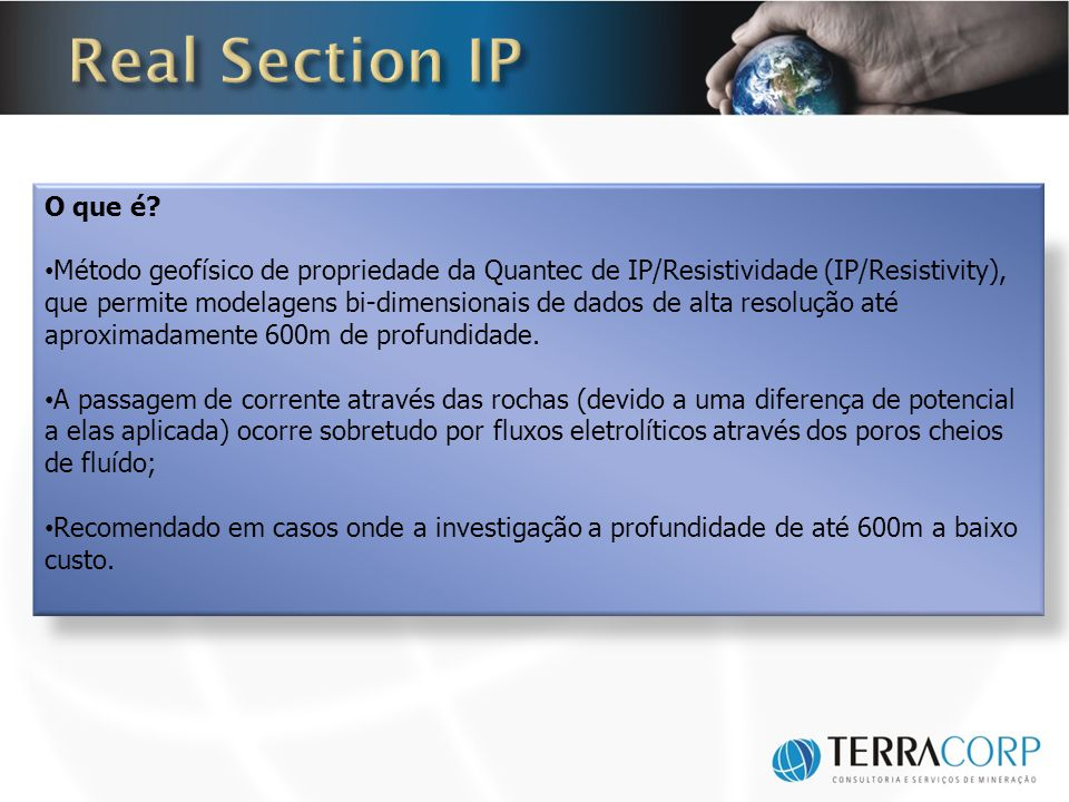 Real Section IP O que é