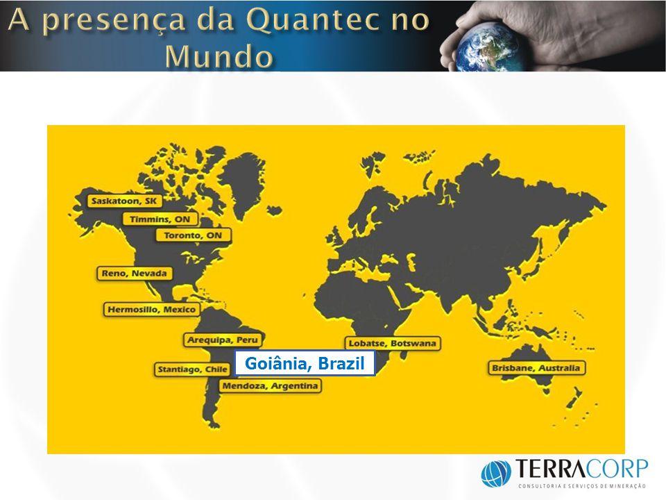A presença da Quantec no Mundo