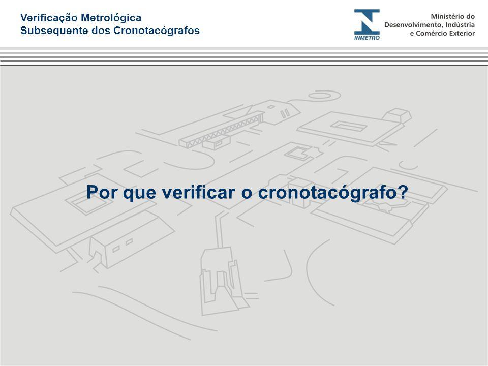Por que verificar o cronotacógrafo