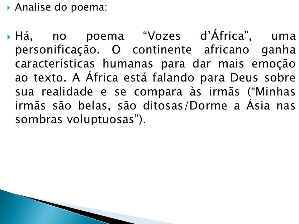 Analise do poema:
