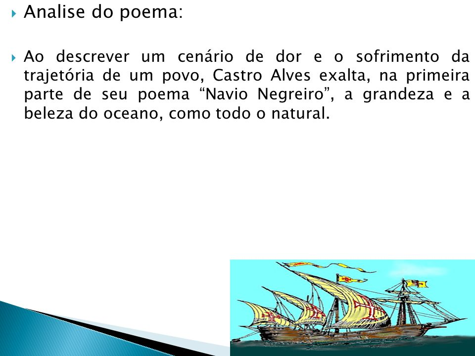 Analise do poema: