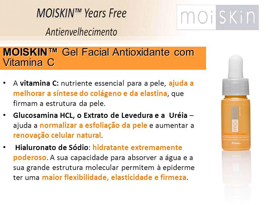 MOISKIN™ Gel Facial Antioxidante com Vitamina C