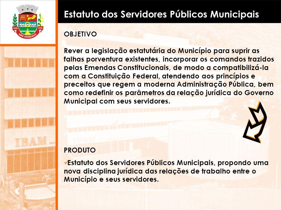 Estatuto dos Servidores Públicos Municipais
