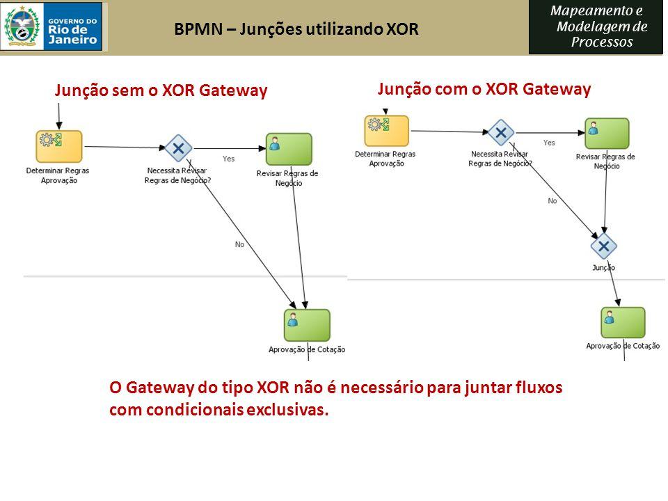 BPMN – Junções utilizando XOR