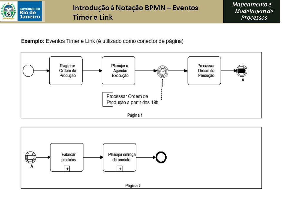 Introdução à Notação BPMN – Eventos Timer e Link