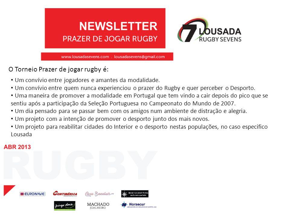 O Torneio Prazer de jogar rugby é: