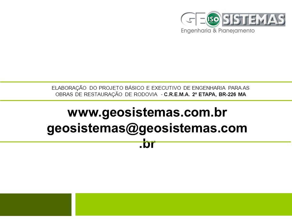 www.geosistemas.com.br geosistemas@geosistemas.com.br