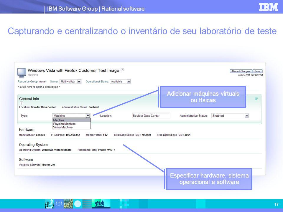 Capturando e centralizando o inventário de seu laboratório de teste