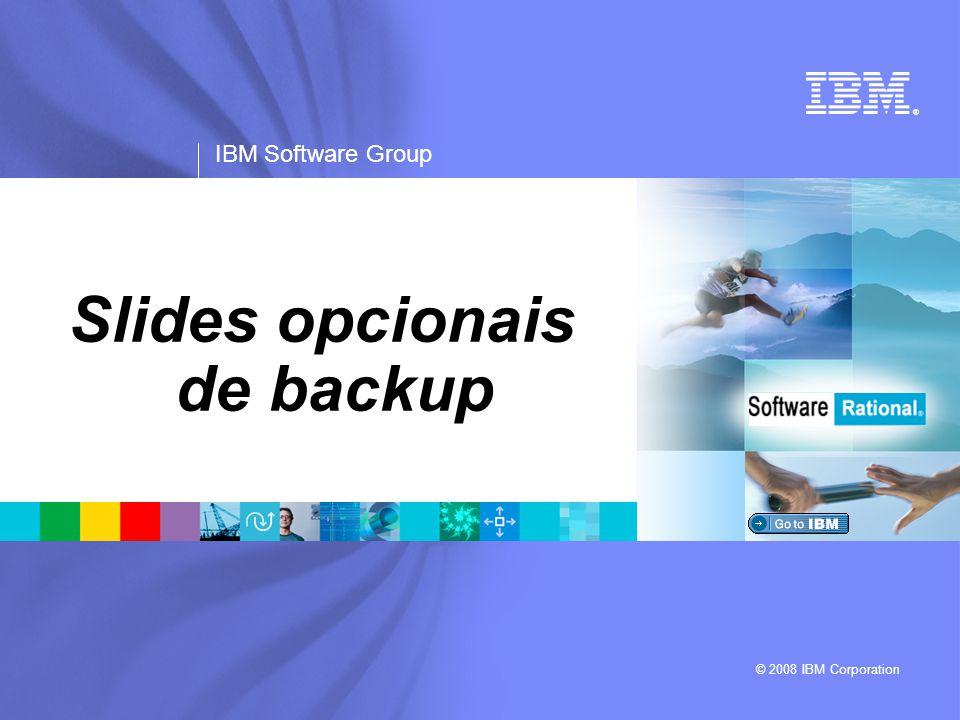 Slides opcionais de backup