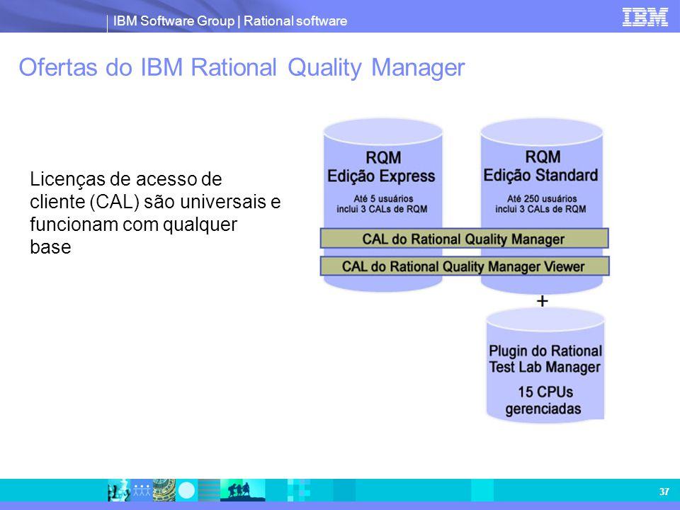 Ofertas do IBM Rational Quality Manager