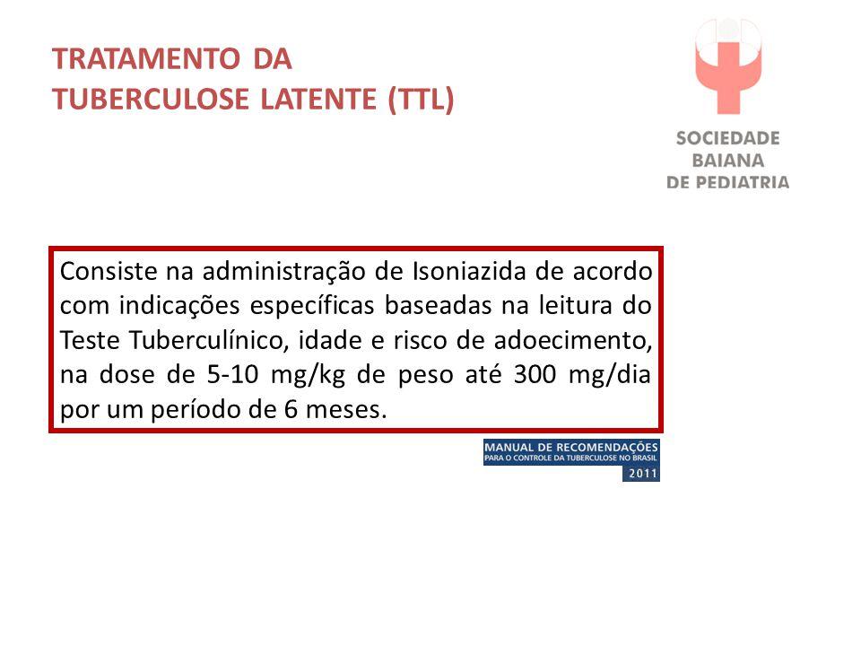TRATAMENTO DA TUBERCULOSE LATENTE (TTL)