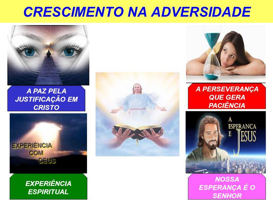 CRESCIMENTO NA ADVERSIDADE