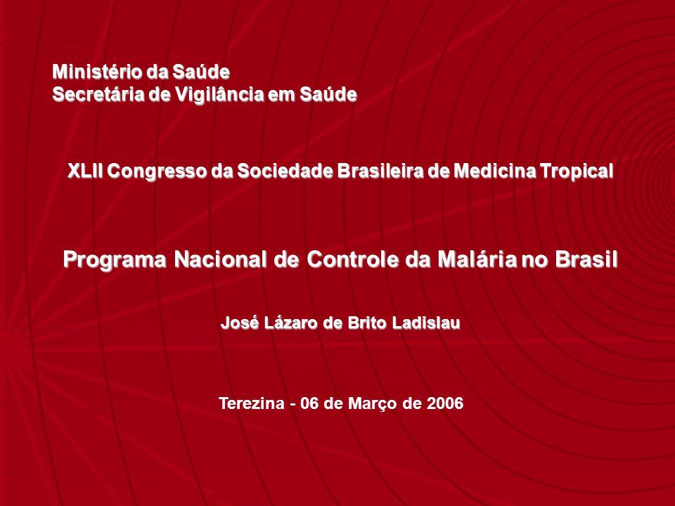Programa Nacional de Controle da Malária no Brasil