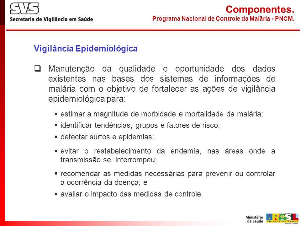 Componentes. Vigilância Epidemiológica