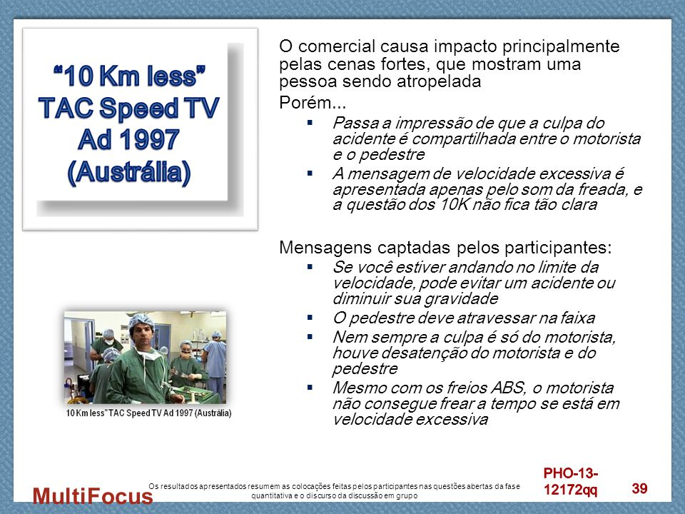 10 Km less TAC Speed TV Ad 1997 (Austrália)