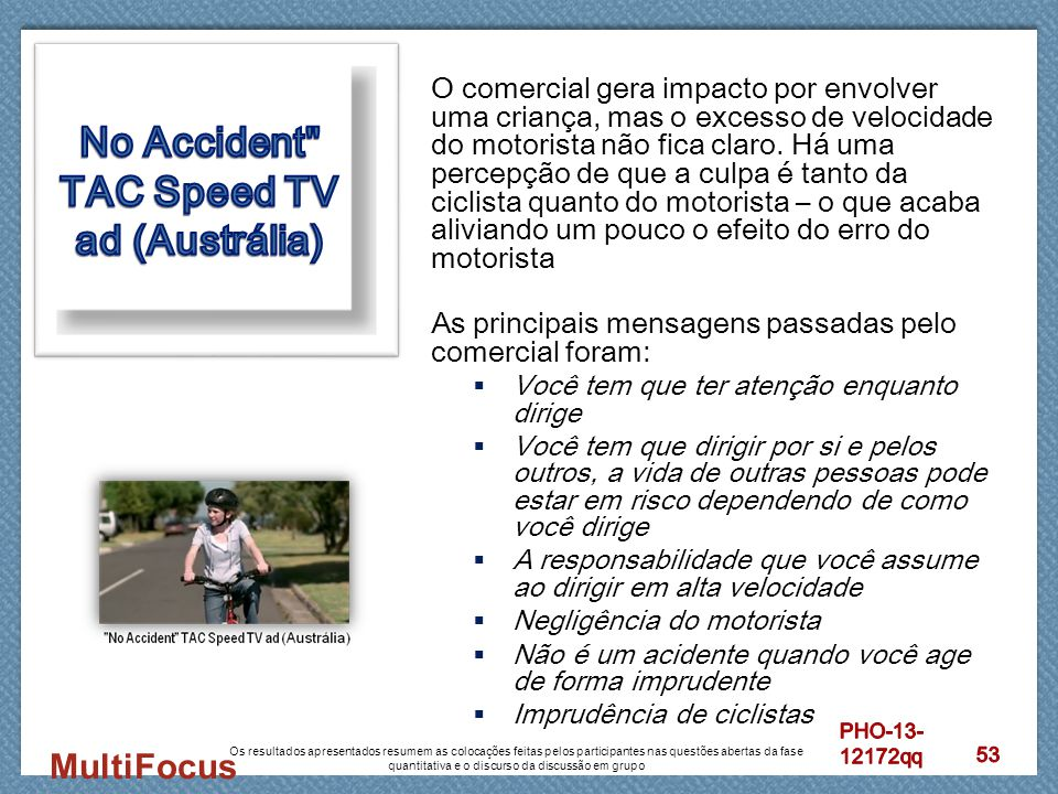 No Accident TAC Speed TV ad (Austrália)