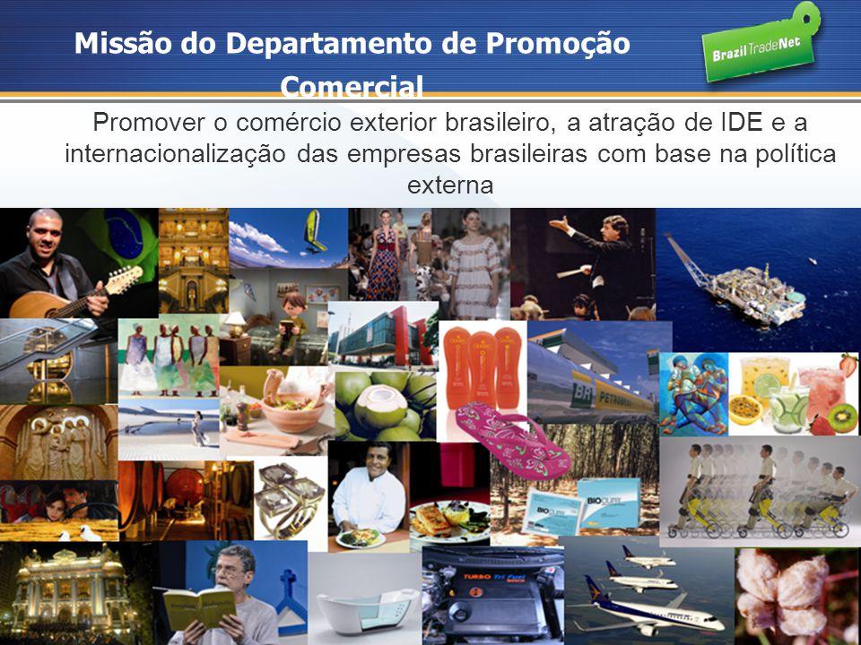 Missão do Departamento de Promoção Comercial