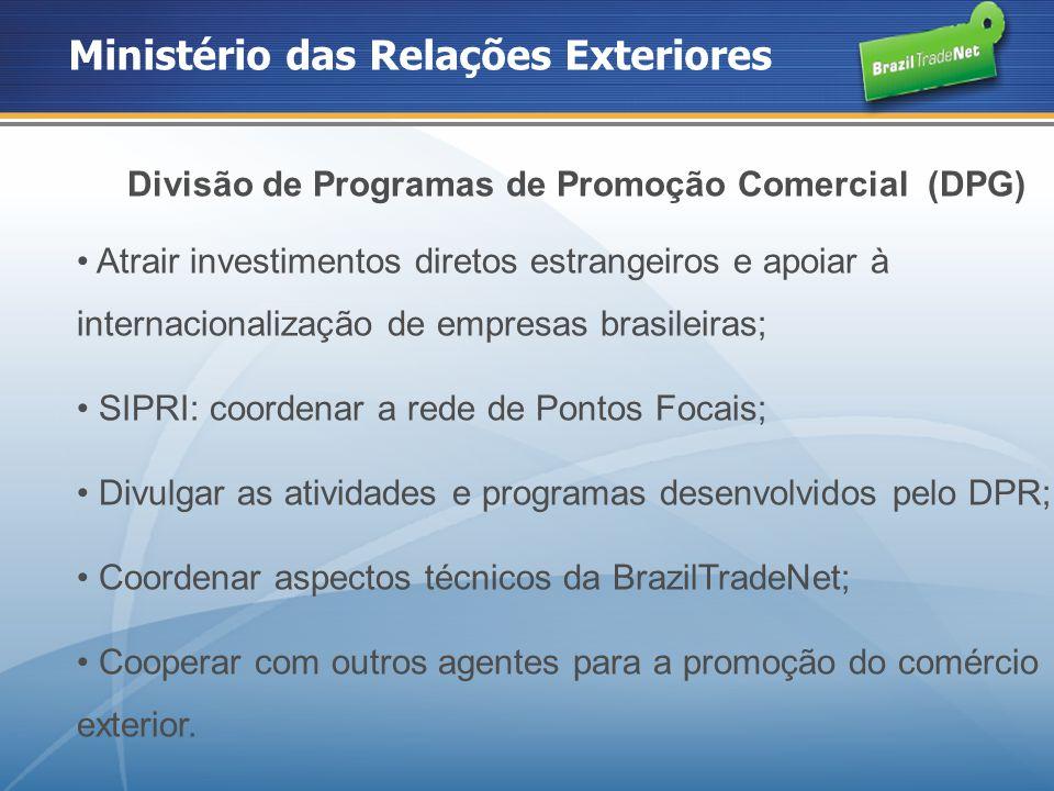 Divisão de Programas de Promoção Comercial (DPG)